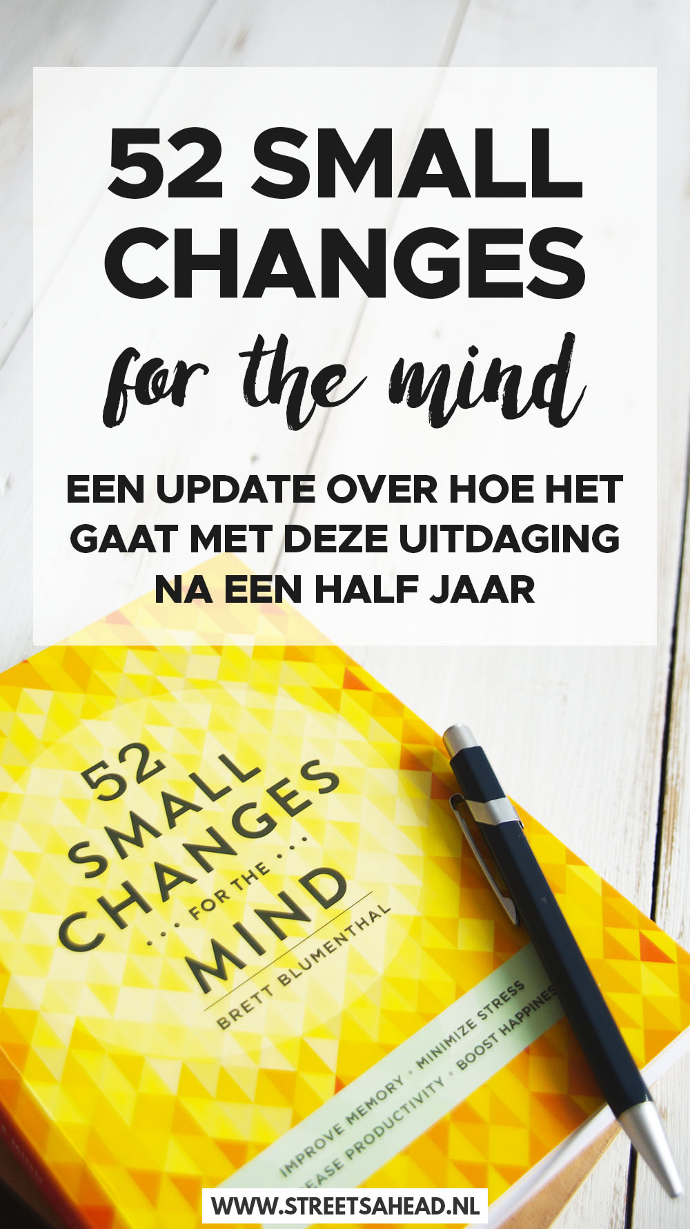 52 small changes na een half jaar