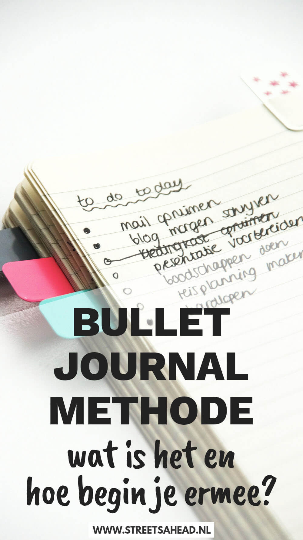 Bullet journal methode: wat is het en hoe begin je ermee?
