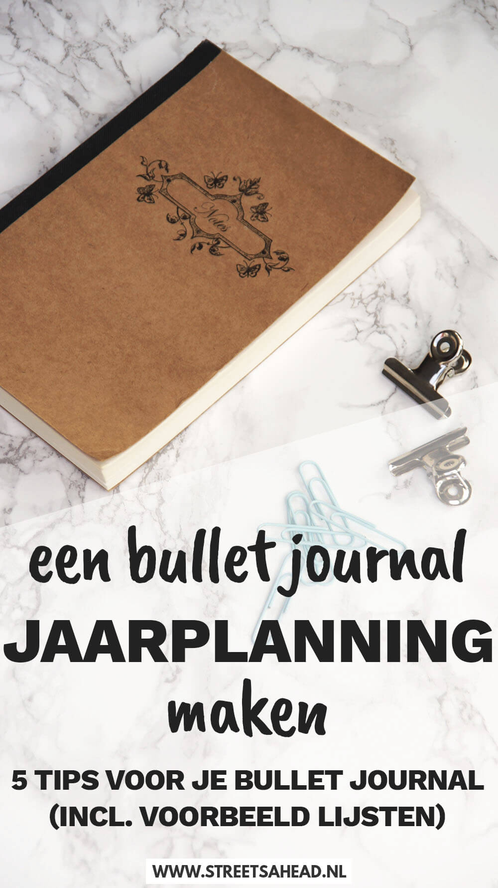 Een bullet journal jaarplanning maken: 5 tips