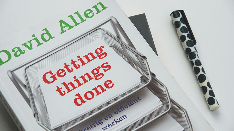 Getting Things Done van David Allen: boek review en tips