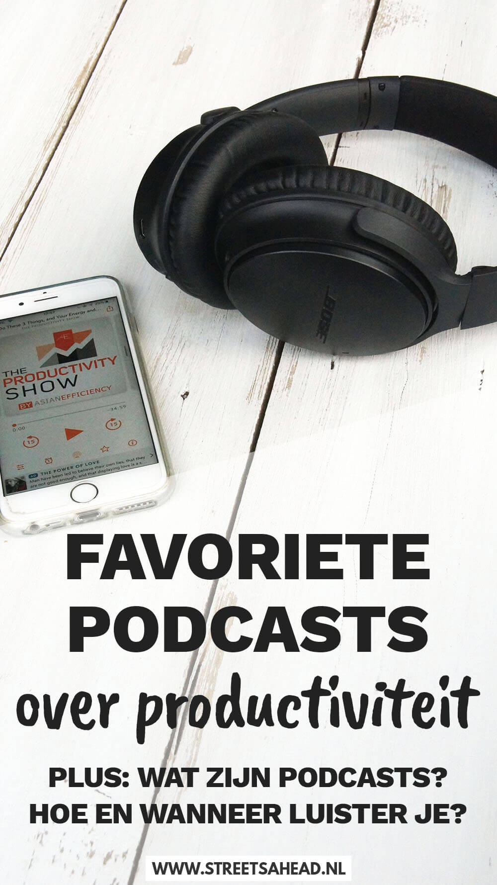 5x favoriete podcasts over productiviteit
